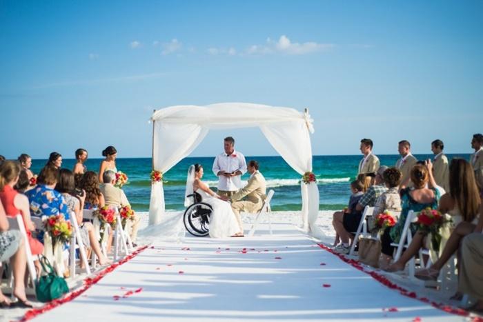 Inclusão: casamento para noivas cadeirantes